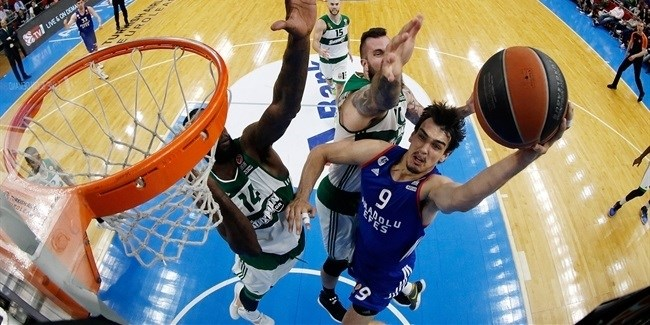 Top 16, Round 14 report: Saric, Heurtel lead Efes to season-ending win