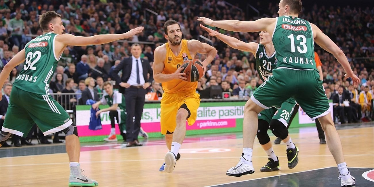 Top 16, Round 14 report: Ribas's second-half effort lifts Barcelona into playoffs