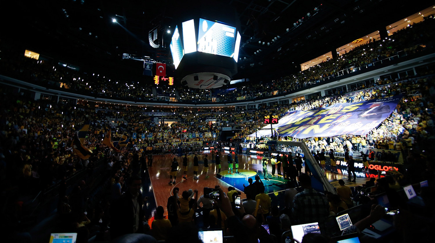 Ulker Sports Arena - Fenerbahce Istanbul - EB15