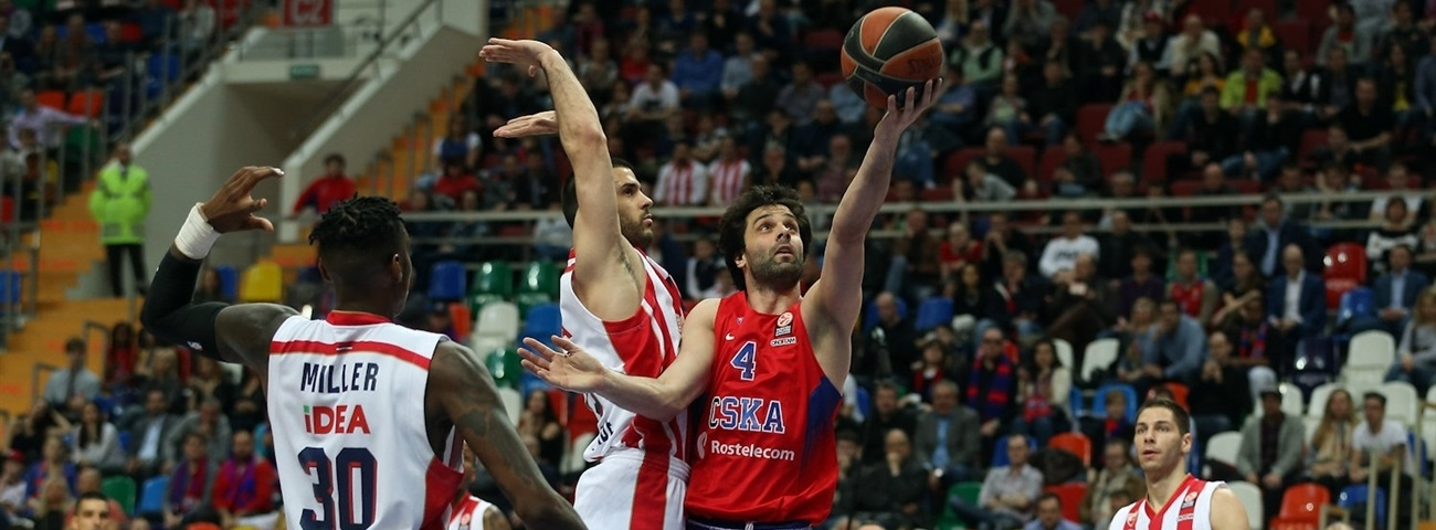 Playoffs, Game 1 MVP: Milos Teodosic, CSKA Moscow