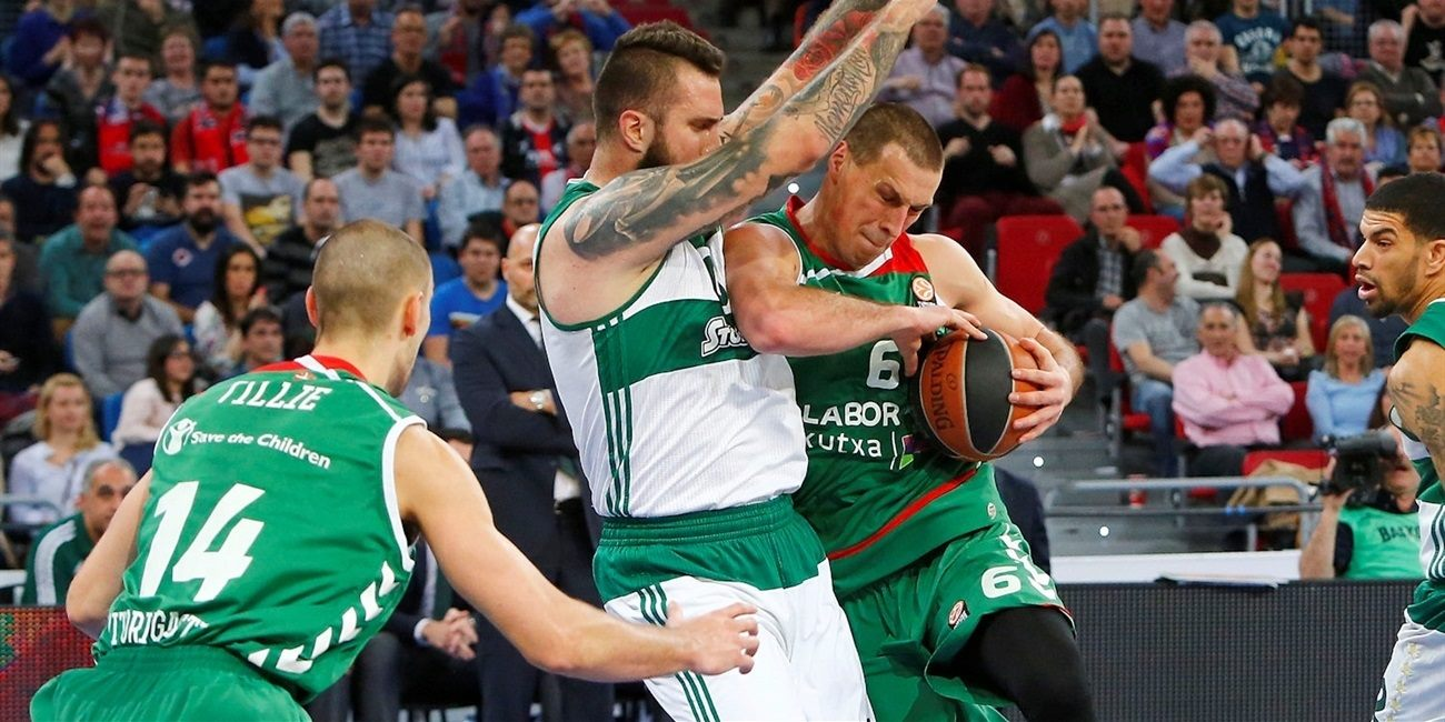 Playoffs Game 1 report: Laboral Kutxa steamrolls Panathinaikos in series opener