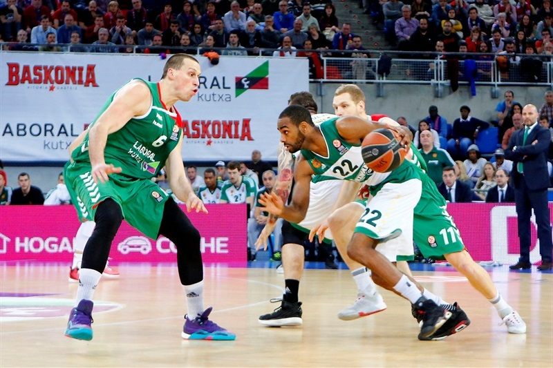 Elliot Williams - Panathinaikos Athens - EB15