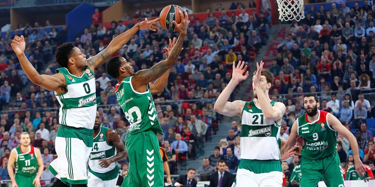 Playoffs Game 2 report: Laboral Kutxa outlasts Panathinaikos in overtime