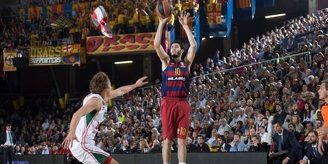 Playoffs Game 3: FC Barcelona Lassa vs. Lokomotiv Kuban Krasnodar