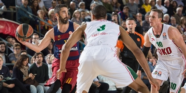 Playoffs Game 4: FC Barcelona Lassa vs. Lokomotiv Kuban Krasnodar