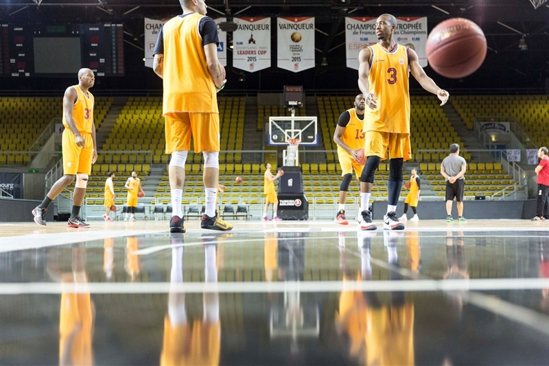 Galatasaray Odeabank  in practices - Eurocup Finals 2016 - EC15