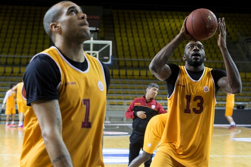 Stephane Lasme - Galatasaray Odeabank Istanbul  in practices - Eurocup Finals 2016 - EC15
