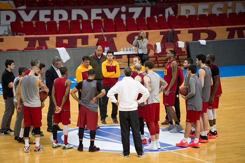 Galatasaray Odeabank  practices in Istanbul - Eurocup Finals 2016 - EC15