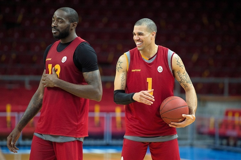 Blake Schilb - Galatasaray Odeabank practices in Istanbul - Eurocup Finals 2016 - EC15
