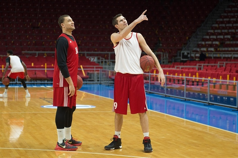 Jeremy Leloup - Strasbourg practices in Istanbul - Eurocup Finals 2016 - EC15