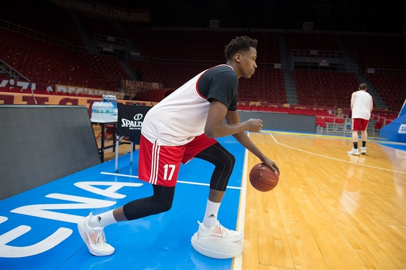 Frank Ntilikina - Strasbourg practices in Istanbul - Eurocup Finals 2016 - EC15