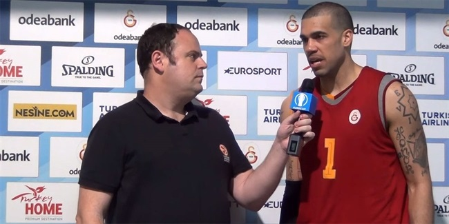 Eurocup Final pre-game interview: Blake Schilb, Galatasaray Odeabank Istanbul