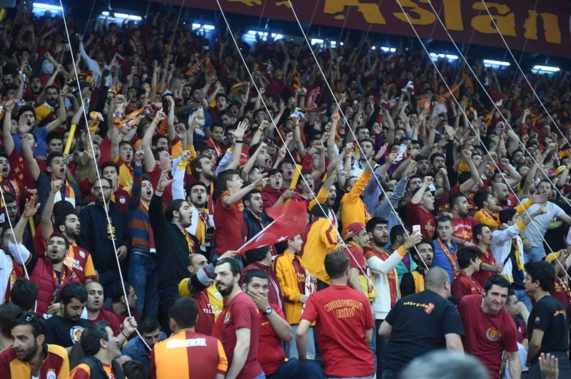 Fans - Galatasaray Odeabank Istanbul in Abdi Ipekci Arena - Eurocup Finals 2016 - EC15
