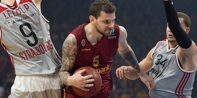 Finals, Game 2: Galatasaray Odeabank Istanbul vs. Strasbourg