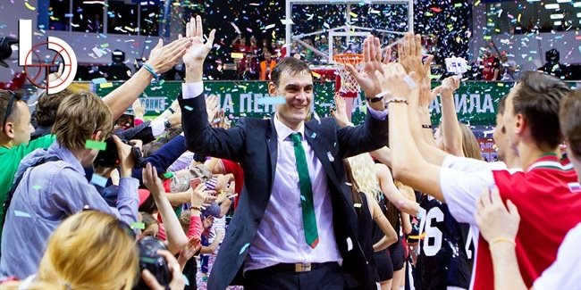 Final Four head coach: Georgios Bartzokas, Lokomotiv Kuban Krasnodar