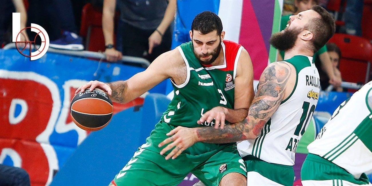 Final Four signature star: Ioannis Bourousis, Laboral Kutxa Vitoria Gasteiz