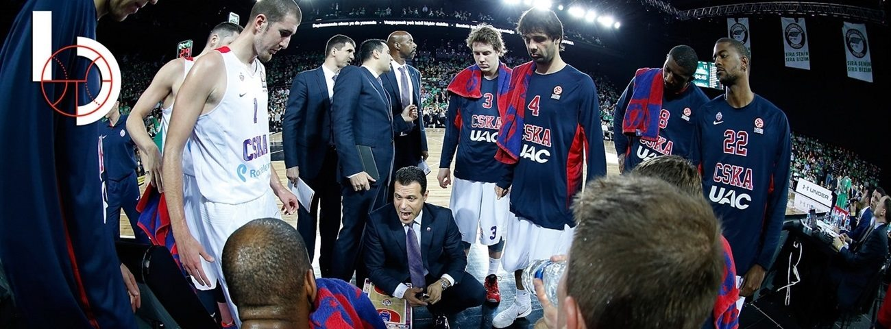 Final Four head coach: Dimitris Itoudis, CSKA Moscow