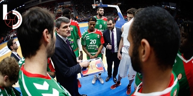 Final Four head coach: Velimir Perasovic, Laboral Kutxa Vitoria-Gasteiz