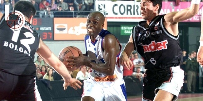 Final Four club legend: Elmer Bennett, Laboral Kutxa Vitoria Gasteiz