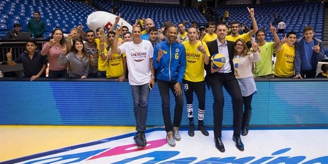 Maccabi project with Ayanot Youth Village thrives