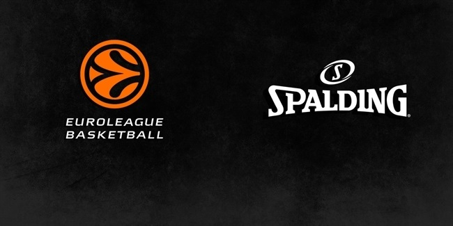 Spalding to remain official basketball and backboard for Euroleague, Eurocup through 2021