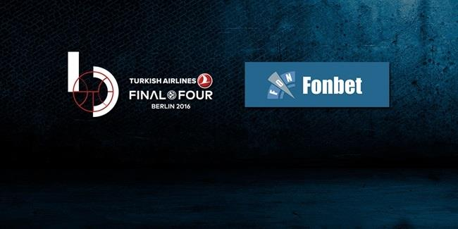 Fonbet becomes Final Four national partner