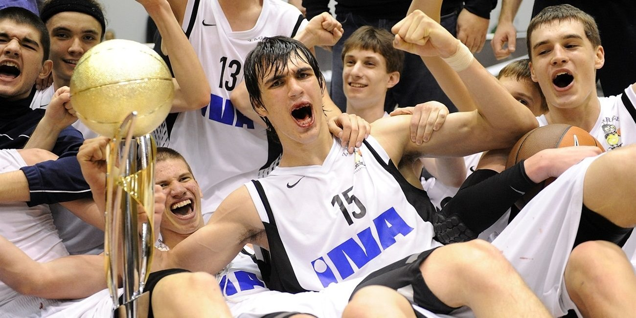 Dario Saric - KK Zagreb is the champ - Final Four Barcelona 2011