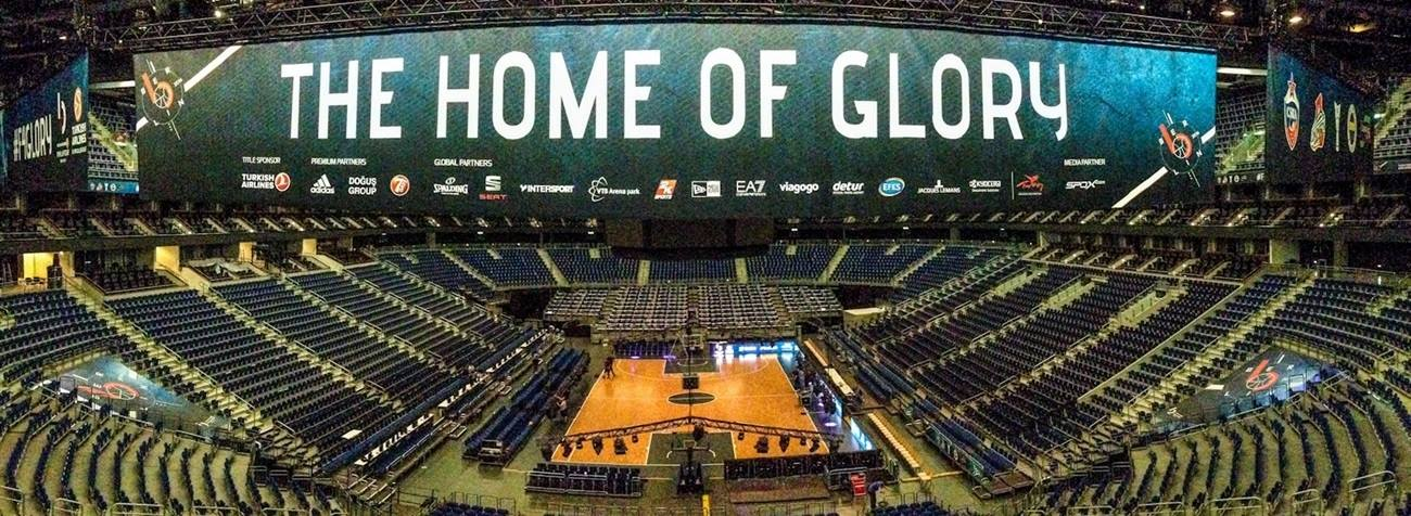 Mercedes-Benz Arena, The home of glory - Final Four Berlin 2016 - EB15
