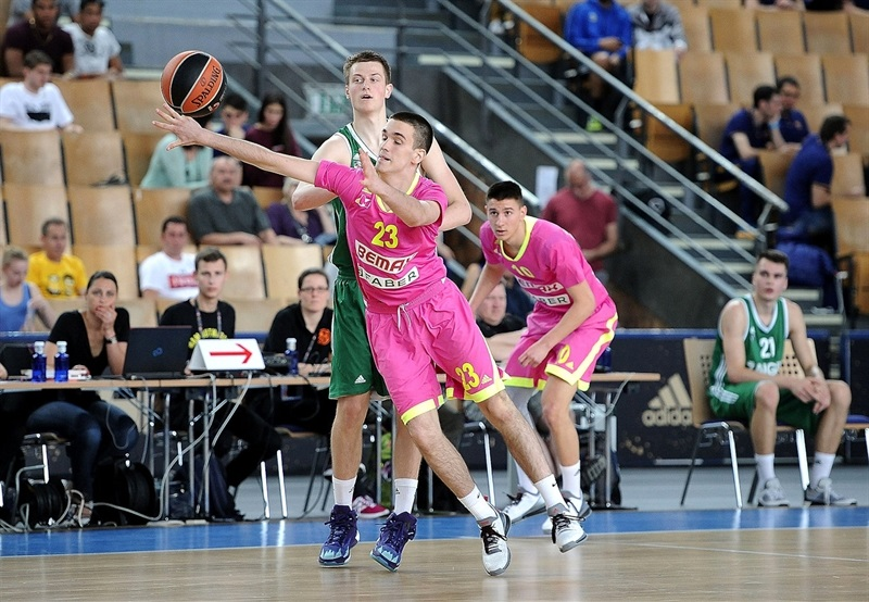 Jovan Virijevic - U18 Mega Bemax Belgrade - Final Four Berlin 2016 - EB15
