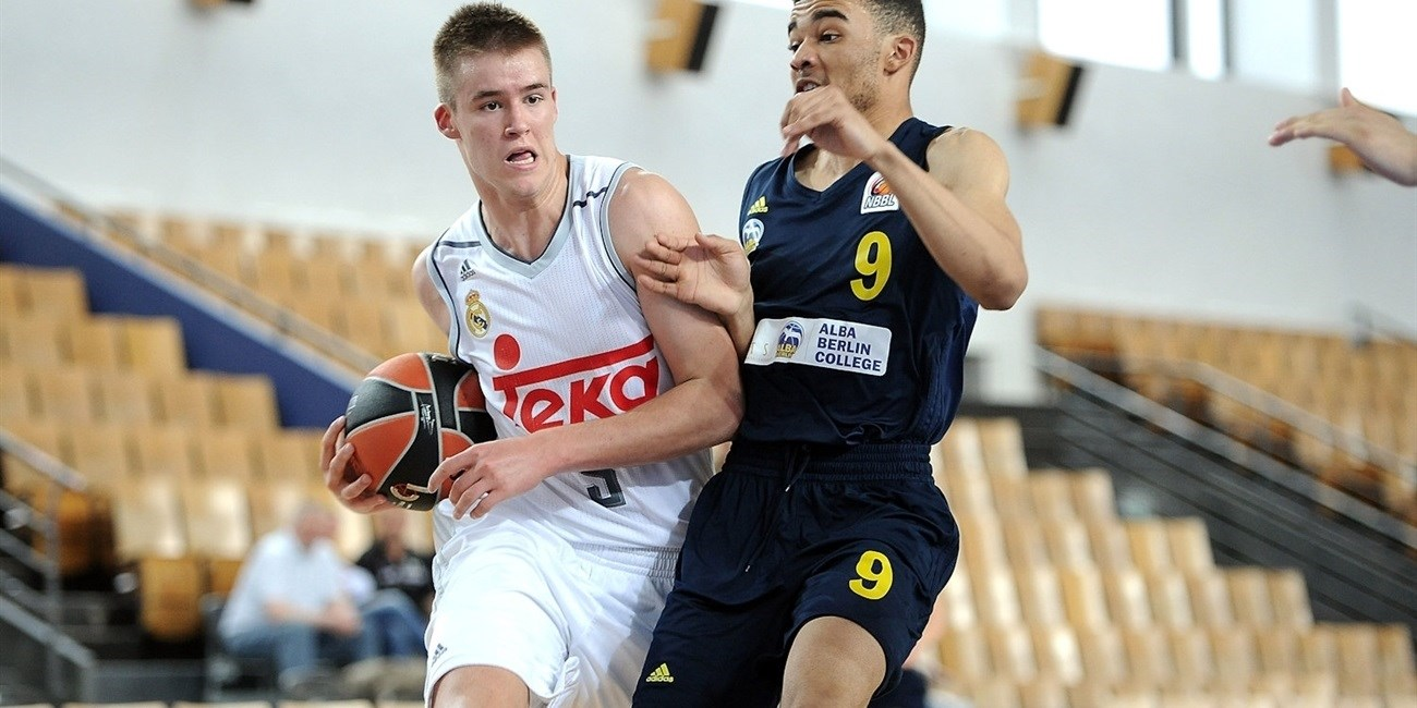 U18 Real Madrid's Radoncic follows path of idols