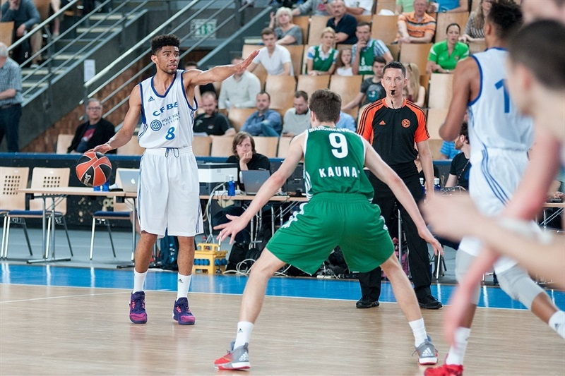 Bathiste Tchouaffe - U18 INSEP Paris - Final Four Berlin 2016 - EB15