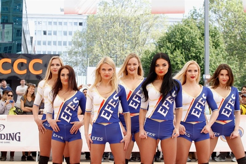 EFES Euroleague Cheerleaders Shows - Final Four Berlin 2016 - EB15