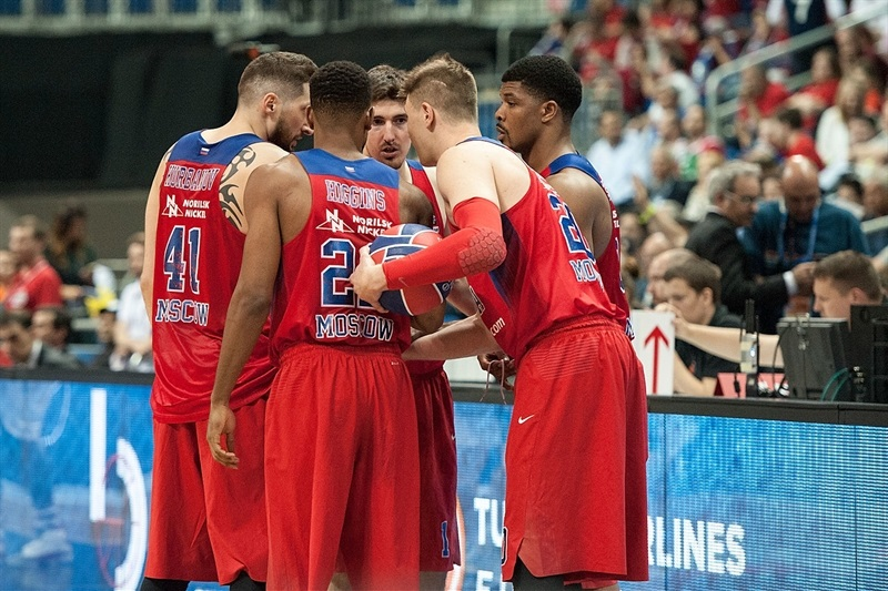 Players CSKA Moscow - Final Four Berlin 2016 - EB15