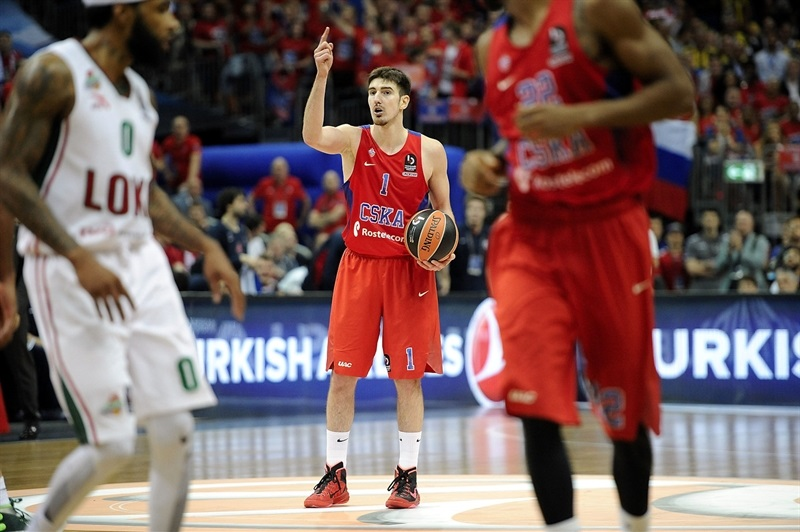 Nando De Colo - CSKA Moscow - Final Four Berlin 2016 - EB15