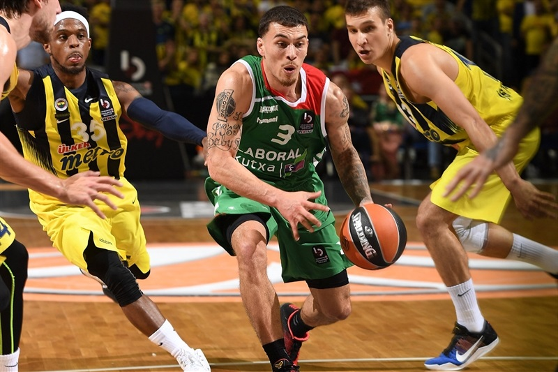 Mike James - Laboral Kutxa Vitoria Gasteiz - Final Four Berlin 2016 - EB15
