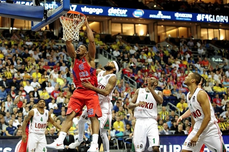 Kyle Hines - CSKA Moscow - Final Four Berlin 2016 - EB15