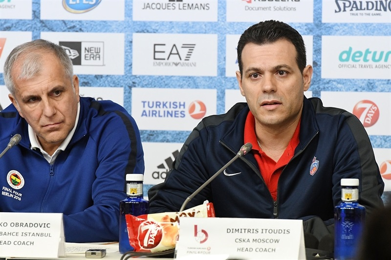 Dimitris Itoudis - Championship game press conference - Final Four Berlin 2016 - EB15