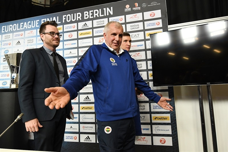 Zeljko Obradovic - Championship game press conference - Final Four Berlin 2016 - EB15