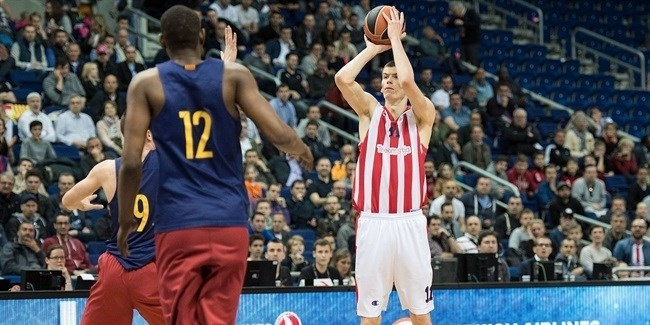 Work with Zvezda first team brings ANGT MVP Simanic to another level