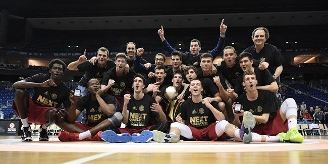 U18 FC Barcelona Lassa is ANGT champion!
