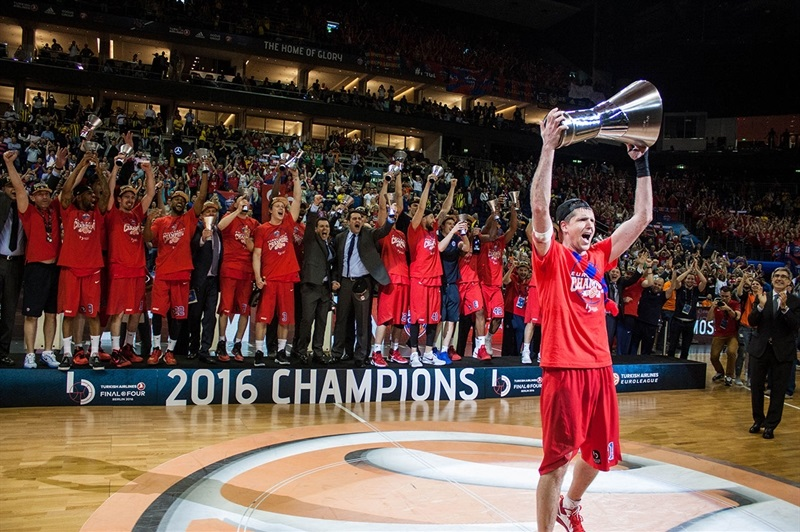 CSKA Moscow Champ - Final Four Berlin 2016 - EB15