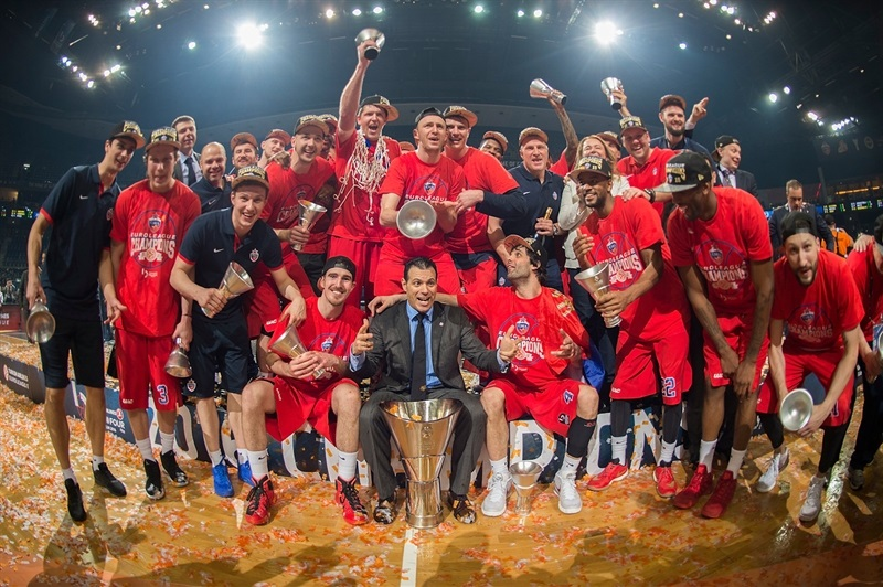 CSKA Moscow Champ Euroleague - Final Four Berlin 2016 - EB15