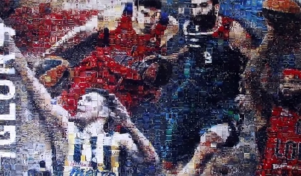 The #F4GLORY Mosaic