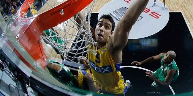 Maccabi forward Segev out four months due to foot injury
