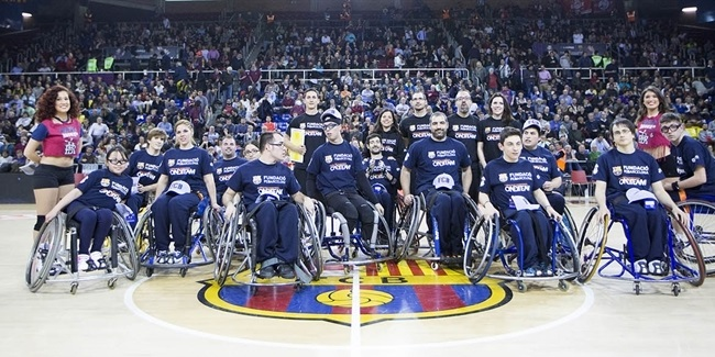 FCB Lassa teams up for One Team project with wheelchair hoopsters