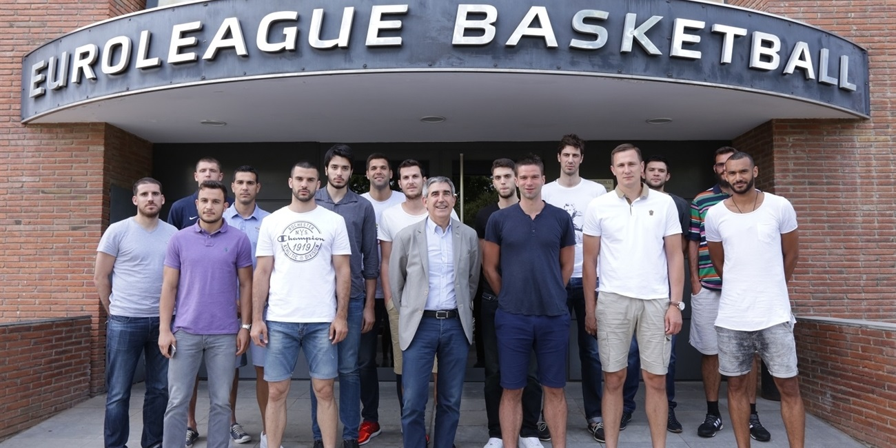 Euroleague players talk of future at EBI Annual Workshops