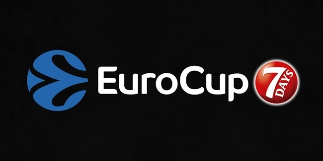 7DAYS EuroCup Top 16 groups, provisional calendar