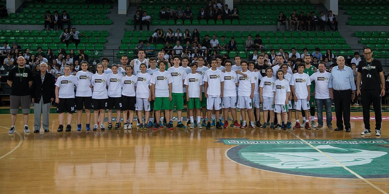 Darussafaka stars form One Team with youngsters