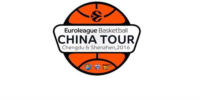 2016 Euroleague Basketball World Tour with reigning champs CSKA Moscow lands in China