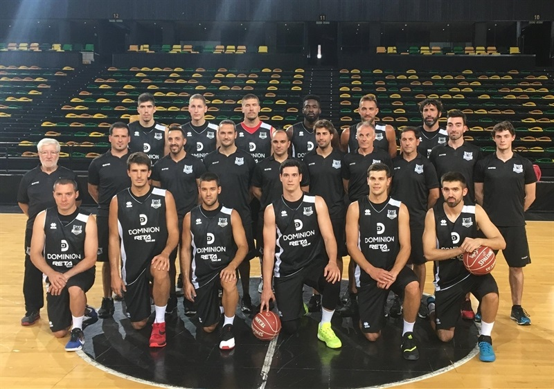 Dominion Bilbao Basket, ready for the 2016-17 season.